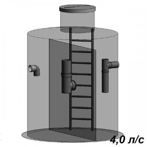 Жироуловитель вертикальный 4 л/с