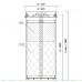 Фильтр-патрон 920х1800 комбинированный (ФПК)