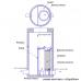 Фильтр-патрон на ножках 580х1200 комбинированный (ФПКН)