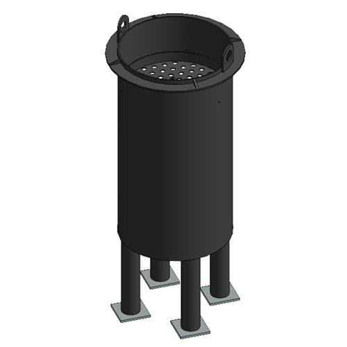 Фильтр-патрон на ножках 580х900 комбинированный (ФПКН)